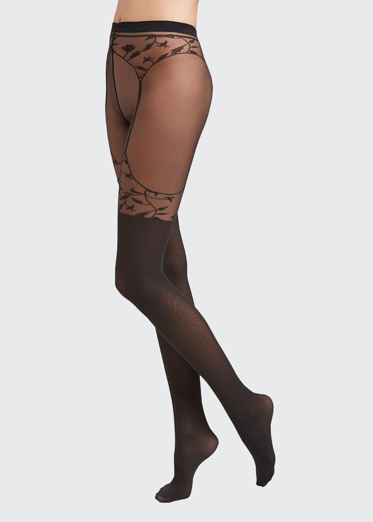 Wolford FLORA ILLUSION TIGHTS