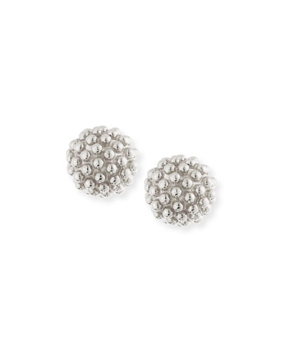 Kate Sterling Silver Ball Earrings