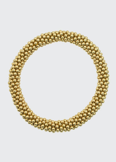 Graham 14K Gold Bead Bracelet