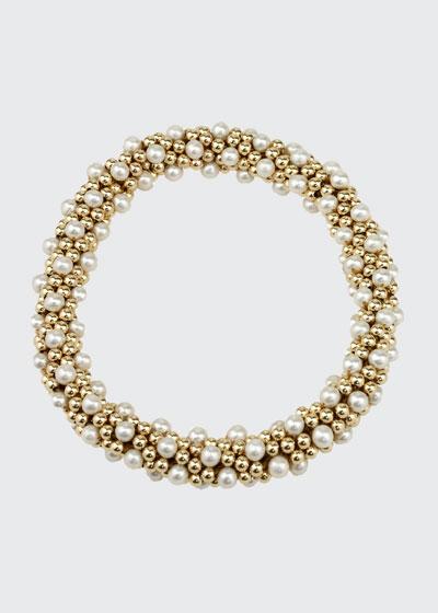 Caroline 14K Gold & Pearl Bracelet