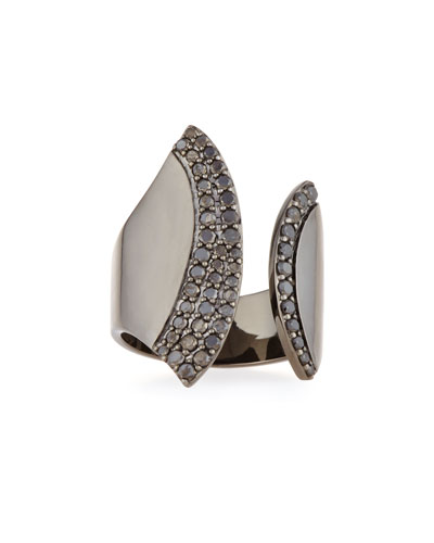 Reckless Elite Ring with Black Diamonds