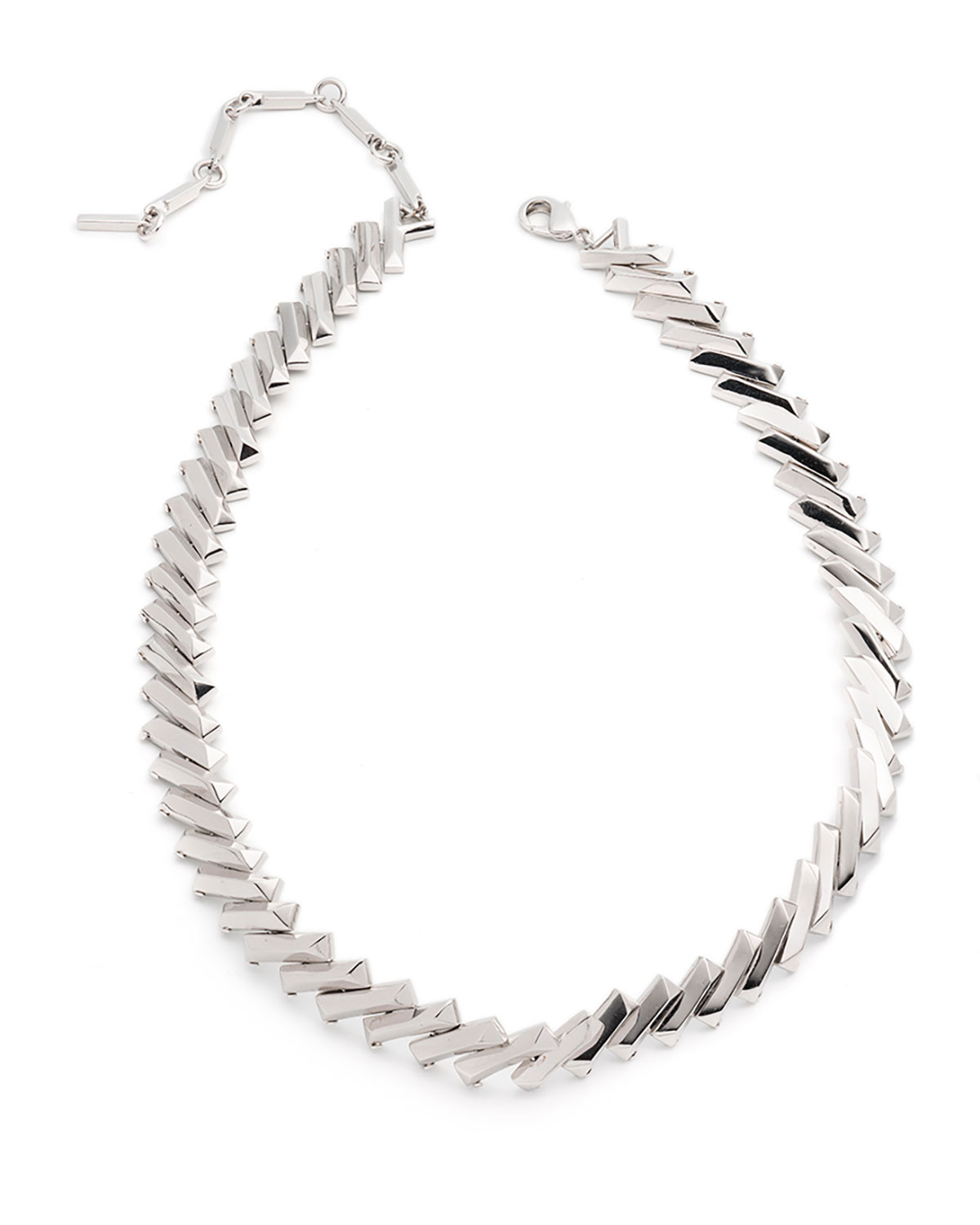 Eddie Borgo Flash Bar Choker Necklace o2CFZHNQ