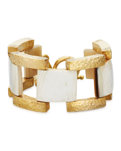 Muziki Chunky Link Bracelet, Multi
