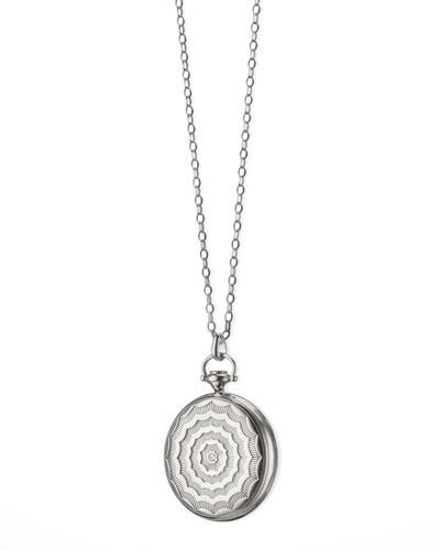 Pocketwatch Locket Necklace