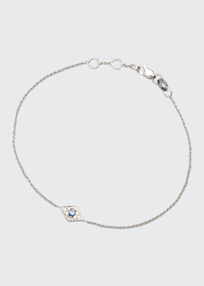 Mini Diamond Evil Eye Bracelet