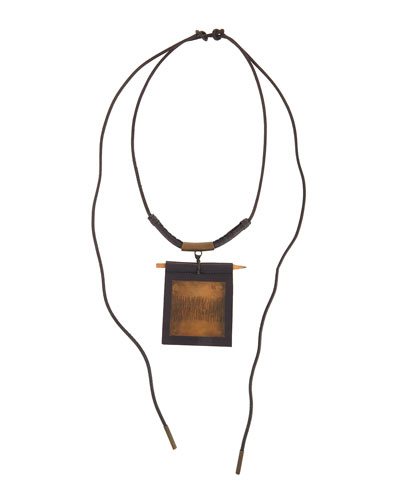 Leather Warrior Necklace