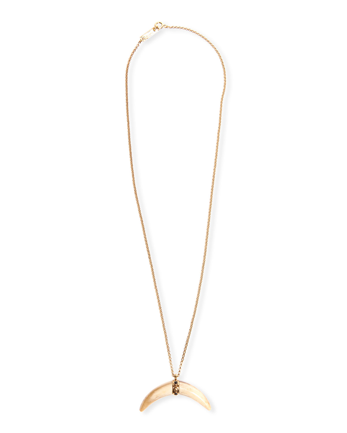 Etoile Isabel Marant Accessories HORN PENDANT NECKLACE
