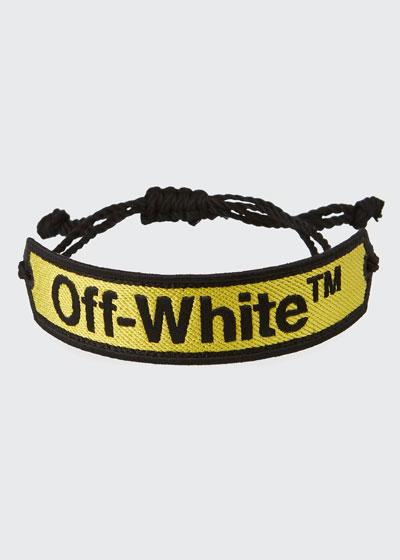 Macrame Pull-Cord Bracelet