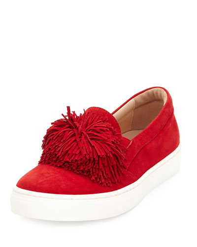 Wild Suede Fringe Sneaker, Toddler/Youth