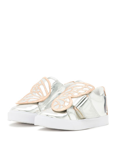 Bibi Butterfly Low-Top Sneakers, Silver/Multi, Toddler/Youth