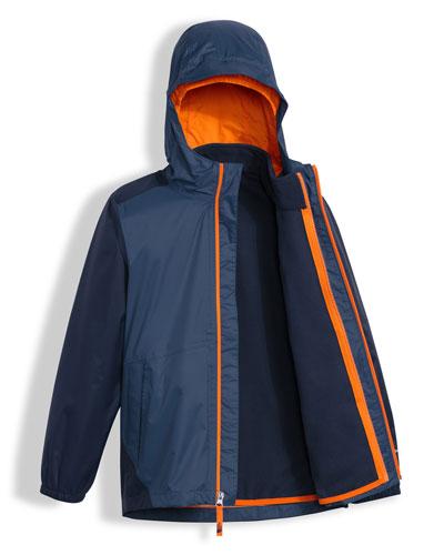Stormy Rain Triclimate® Hooded Jacket, Blue, Size XXS-L