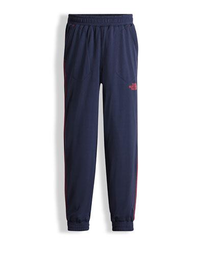 Mak Jersey Track Pants, Blue, Size XXS-L