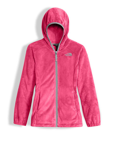 Oso 2 Hooded Fleece Jacket, Bright Pink, Size XXS-L