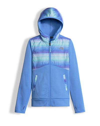 Kickin' It Hooded Fleece Jacket, Blue, Size XXS-L