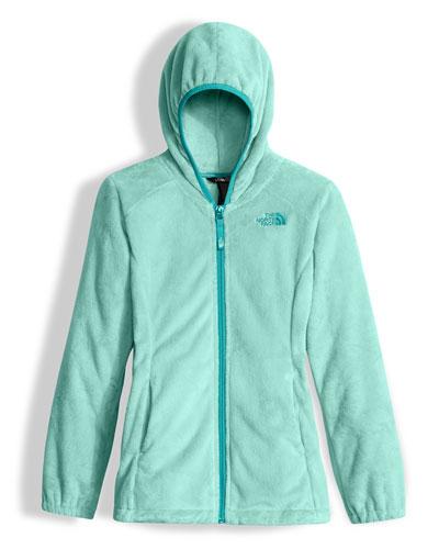 Oso 2 Hooded Fleece Jacket, Breeze Blue, Size XXS-L
