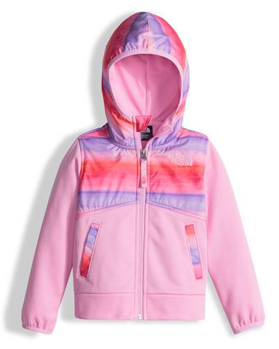 Kickin' It Hooded Fleece Jacket, Pink, Size XXS-L