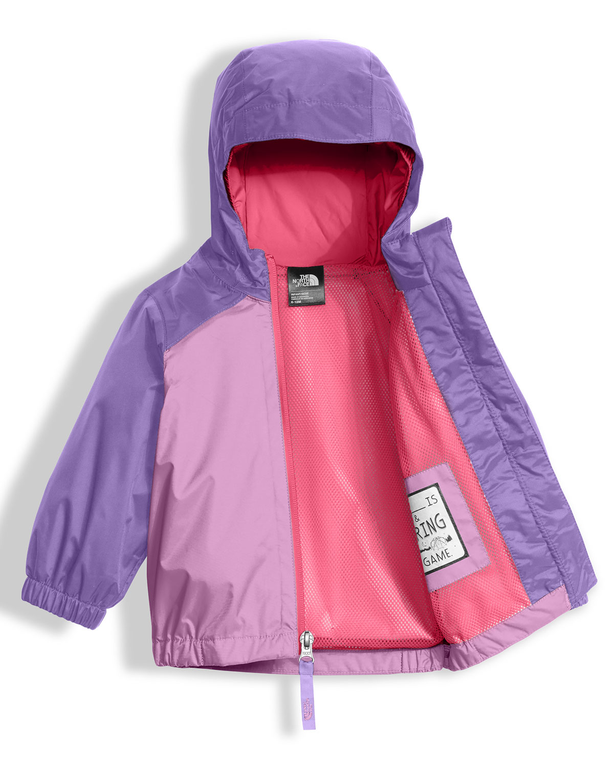 Stormy Rain Triclimate® Hooded Jacket, Purple, Size 3-24 Months