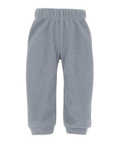 Glacier Micro-Fleece Pants, Gray, Size 3-24 Months