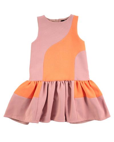 Canal Drop-Waist Dress, Sizes 2T/3T-11/12