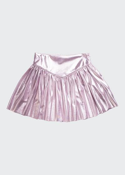 Heather Pleated Skirt, Size 8-14
