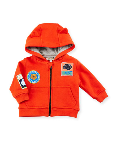 Baloo Hooded Jersey Sweatshirt, Red, Size 6-18 Months