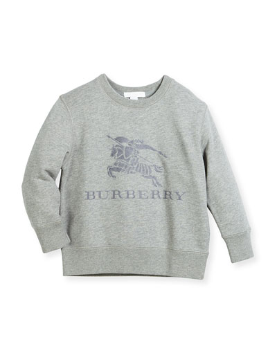 Boys' Mini Tom Logo Embroidery Sweatshirt, Size 4