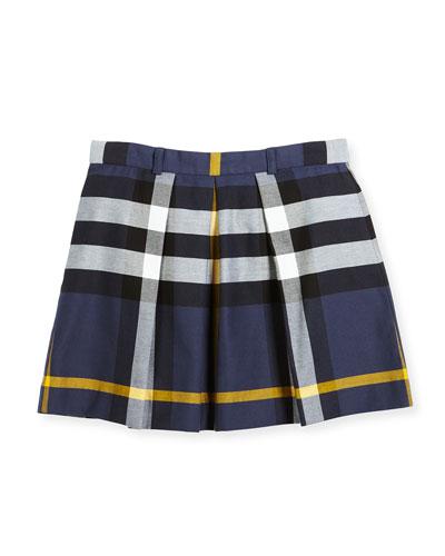 Kittie Check Skirt, Size 4-14