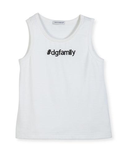 #DGFamily Cotton Tank, Size 4-6