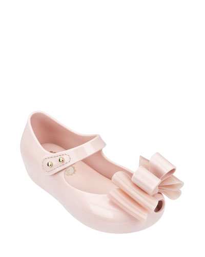Ultragirl Sweet III Tiered-Bow Mary Jane Flat, Sand, Toddler