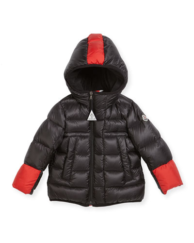 Boys' Drake Colorblock Down Jacket, Size 12M-3T