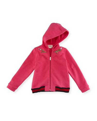 Zip-Up Hooded Sweatshirt, Size 6-36 Months