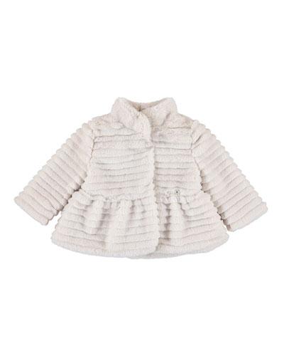 Faux-Fur Coat, Size 6-36 Months