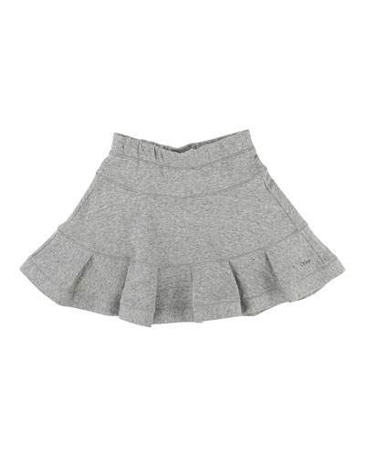 Girls' Flare Skirt, Size 4-5