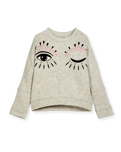 Marbled Eye Sweater, Size 8-12
