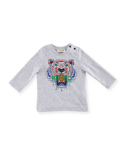 192e9726 Long-Sleeve Logo Tiger Tee, Size 12-18 Months Quick Look. Kenzo