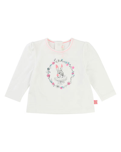Rabbit Jersey T-Shirt, Size 2-3