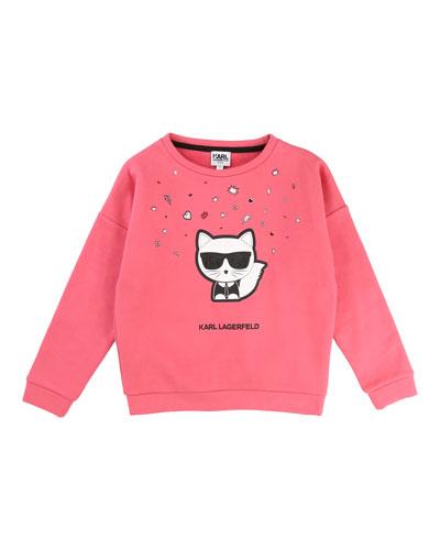 Cool Choupette Sweatshirt, Size 2-5