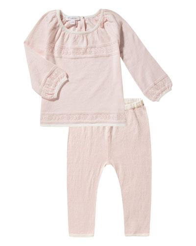 Take Me Home Cotton Tunic w/ Leggings, Size 3-24 Months