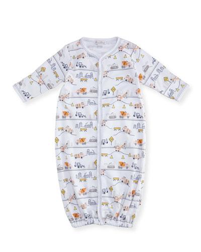 City Demo Convertible Pima Sleep Gown, Size Newborn-Small
