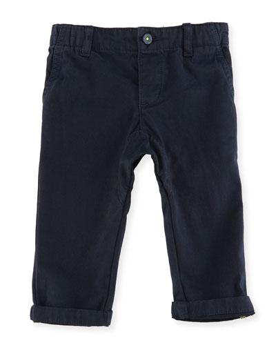 Boys' Elastic-Waist Pants, Size 12-18 Months