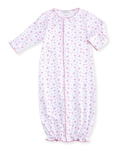 Autumn Breeze Convertible Pima Gown, Size Newborn-Small