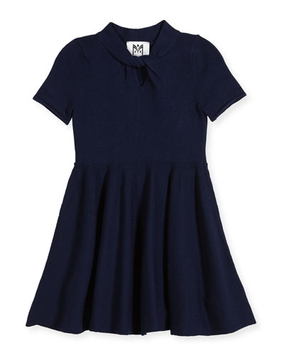 Twist Fit-and-Flare Dress, Size 4-7