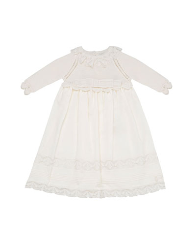 Dress w/ Sweater Top & Woven Skirt, Size 1-3 Months