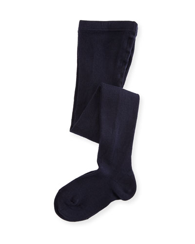 Girls' Footed Tights, Size 12M-6T