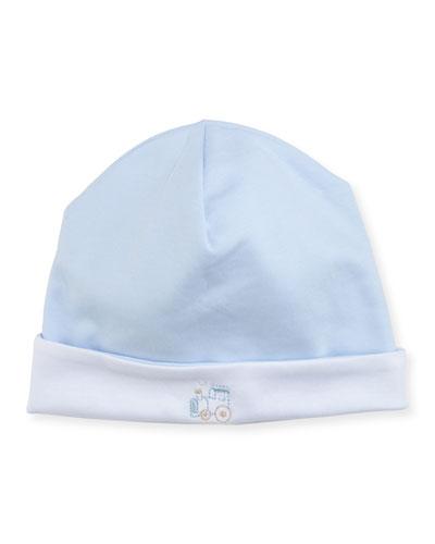 Steam Engine Pima Baby Hat