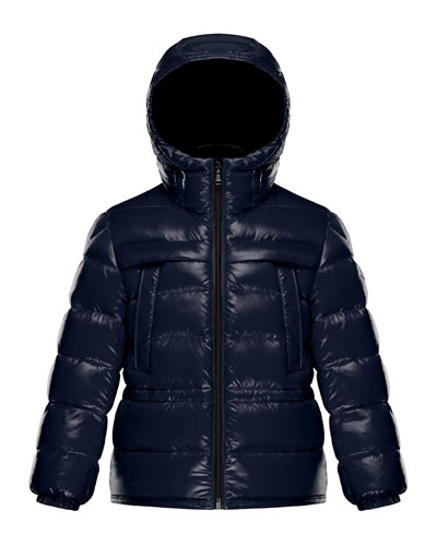 Gibran 1 Hooded Quilted Coat, Size 8-14