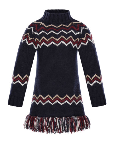 Abito Tricot Wool-Cashmere Knit Dress, Sizes 8-14