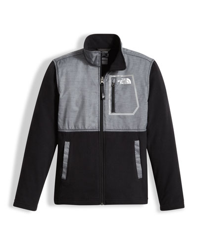 Boys' Glacier Track Jacket, Gray, Size XXS-XL