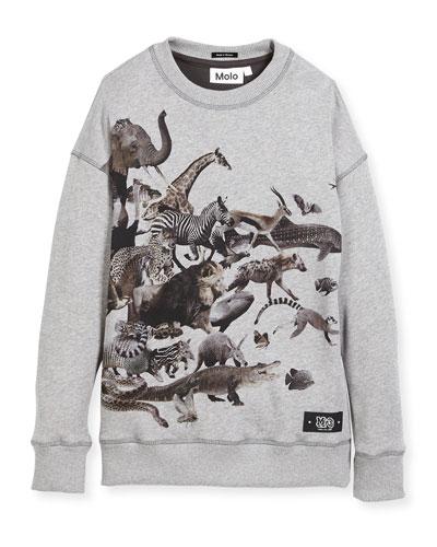 Milton Sweatshirt Dress, Size 4-10