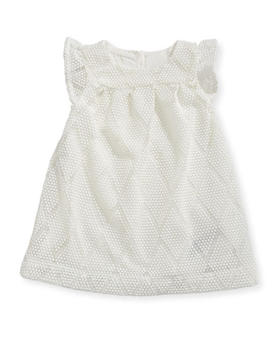 Sabby Diamond Knit Dress, Size 6-24 Months